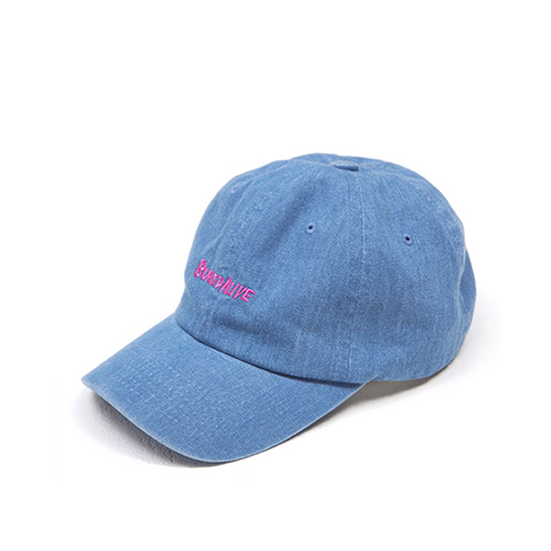 [Buried Alive] Ba 15 Logo Ball Cap_Indigo