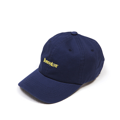 [Buried Alive] Ba 15 Logo Ball Cap_Navy