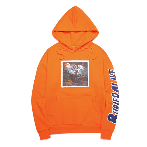 [단독30%할인] [Buried Alive] Ba Print Hoodie_Orange
