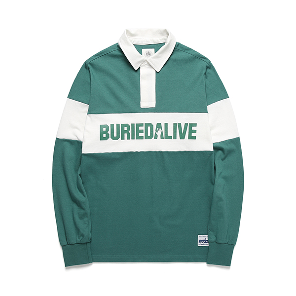 [단독30%할인] [Buried Alive] Ba Block Pk Tee_Green
