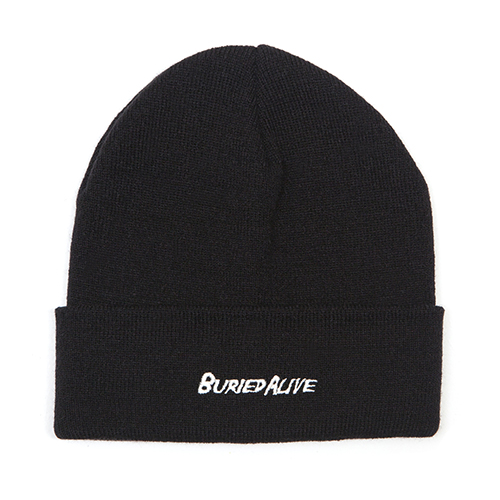 [단독30%할인] [Buried Alive] Ba 15 Logo Beanie_Black