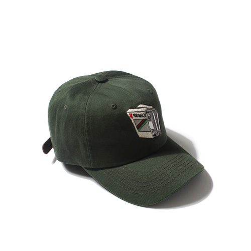 [Buried Alive] Ba Tape Ball Cap_Green