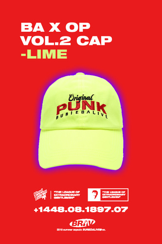 BA X OP VOL.2 CAP LIME