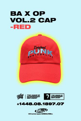 BA X OP VOL.2 CAP RED