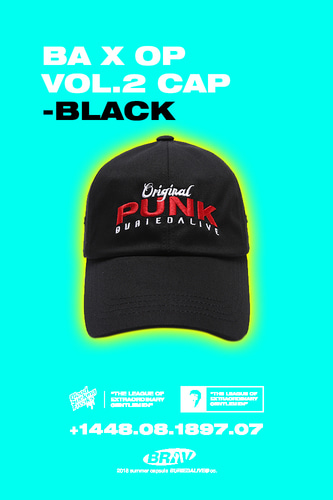 BA X OP VOL.2 CAP BLACK