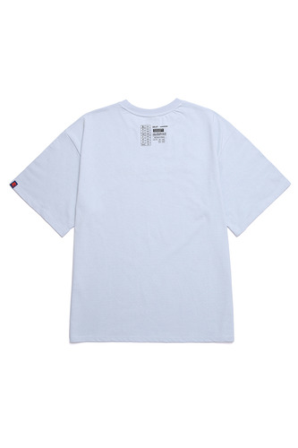 BA FAKE-BR TEE LIGHT BLUE