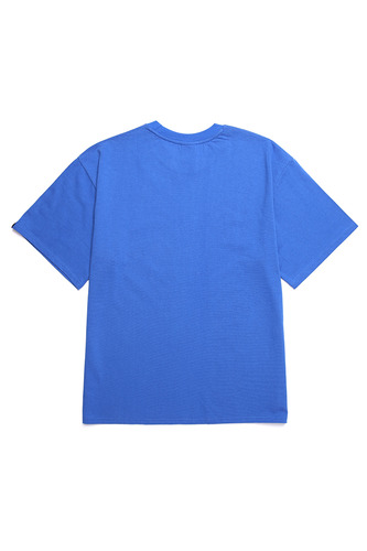 BA FAKE-BB TEE BLUE