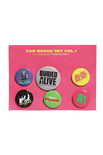 BA CAN BADGE SET VOL.1 B.TYPE