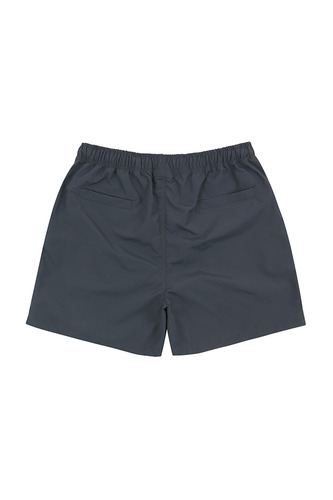 BA ALIVE LOGO SHORT PANTS DARK GRAY