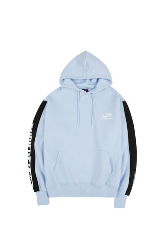 BA M.COLOR HOOD SKY BLUE