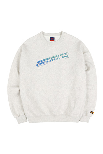 BA INC SWEATSHIRTS GRAY