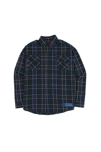 BA SPRINT CHECK SHIRTS BLUE