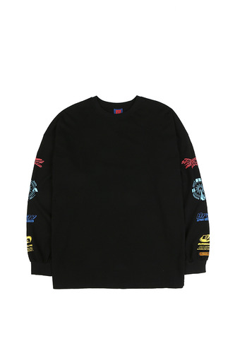 BA ARM LOGO LONG SLEEVE BLACK