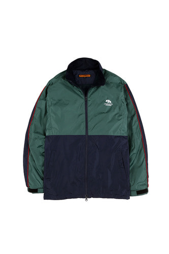 BA SPLIT TRACK JACKET NAVY/GREEN