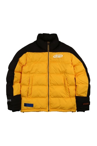 BA BRIDA PADDING JACKET YELLOW/BLACK