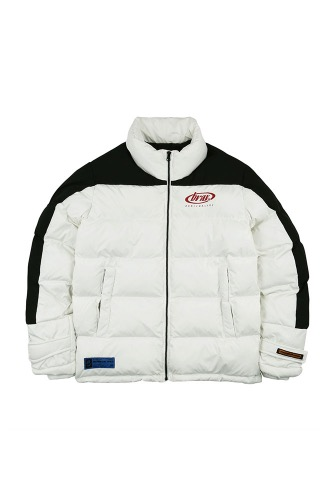 BA BRIDA PADDING JACKET WHITE/BLACK