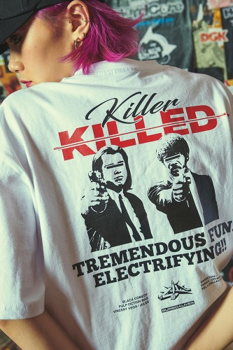BA KILLED TEE WHITE