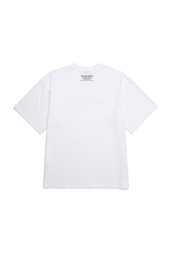 BA CIRCLE LOGO TEE PART2 WHITE