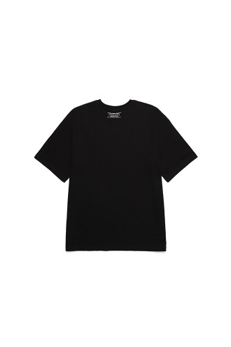 BA CIRCLE LOGO TEE PART2 BLACK