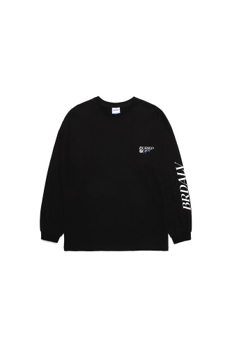 BA BLOOD LONG SLEEVE BLACK