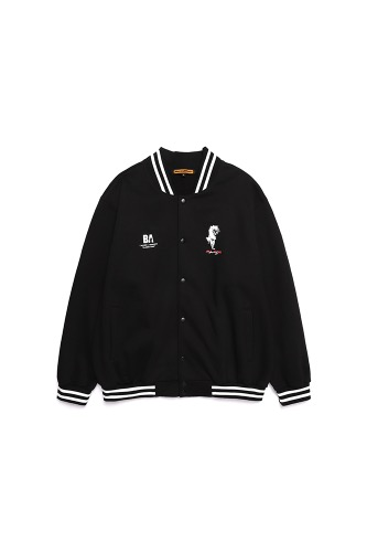 BA DAMN VAMPIRES COTTON STADIUM JACKET