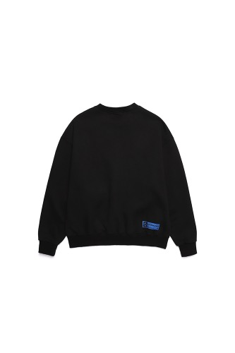 BA CIRCLE LOGO SWEATSHIRTS BLACK