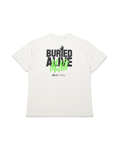 MNxBA Neon Logo T-Shirt / Off White