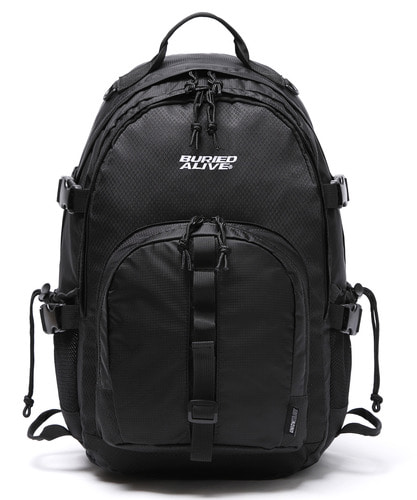 BA X UNION GRID BACKPACK - BLACK