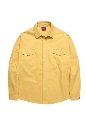 BA LOGO OVER SHIRTS YELLOW
