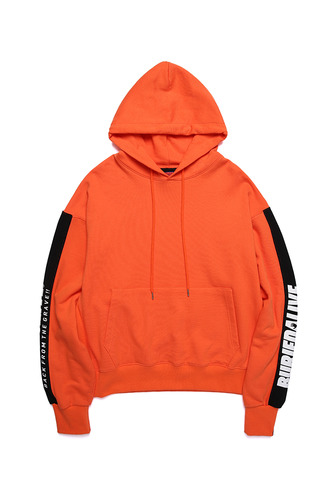 BA COLOR LOGO HOODIE ORANGE