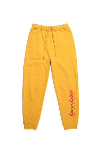 [3/1예약발송] BA LOGO SWEAT PANTS YELLOW