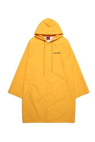 [3/1예약발송] BA PS RAIN LONG COAT YELLOW (OFFICIAL LIMITED)