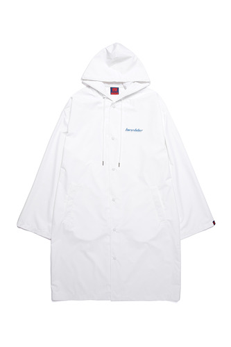 [3/1예약발송] BA BOTOX RAIN LONG COAT WHITE