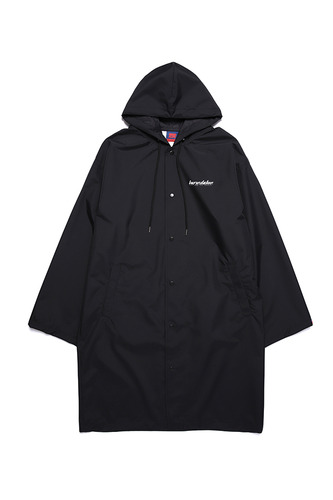 BA BOTOX RAIN LONG COAT BLACK