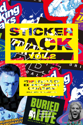 BA 18summer STICKER PACK-vol.2