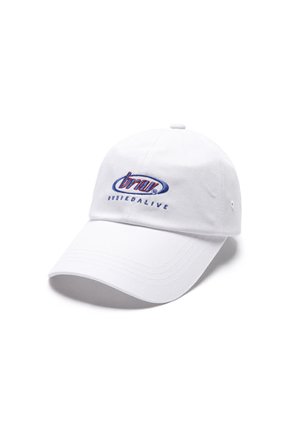 BA CIRCLE LOGO CAP WHITE
