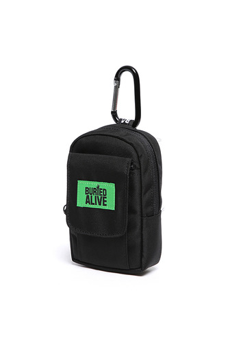 BA CHOKE BAG_BLACK/GREEN