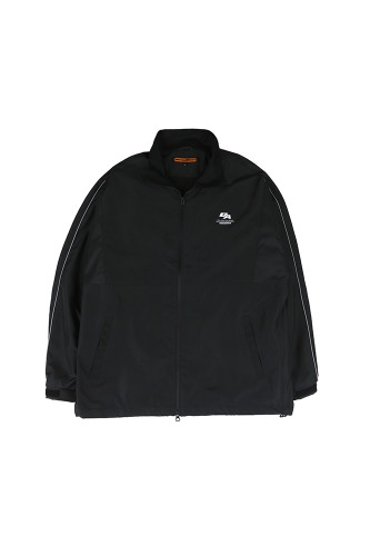 BA SPLIT TRACK JACKET BLACK
