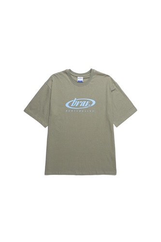 BA CIRCLE LOGO TEE PART2 KHAKI
