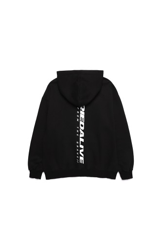 BA NEW LOGO HOOD BLACK