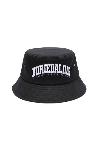 BA OS LOGO BUCKET HAT BLACK