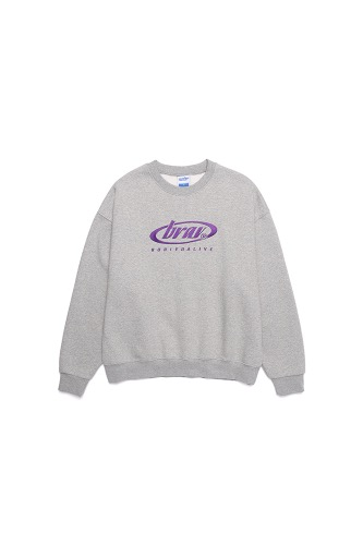 BA CIRCLE LOGO SWEATSHIRTS GRAY