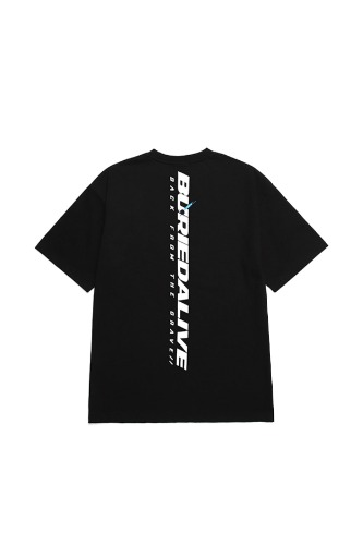 [재입고] BA NEW LOGO TEE BLACK